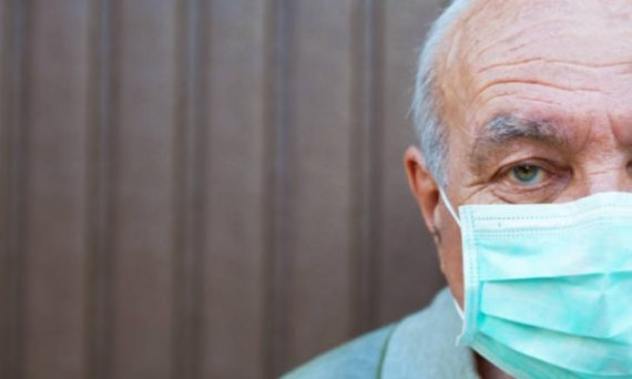 elderly father mask