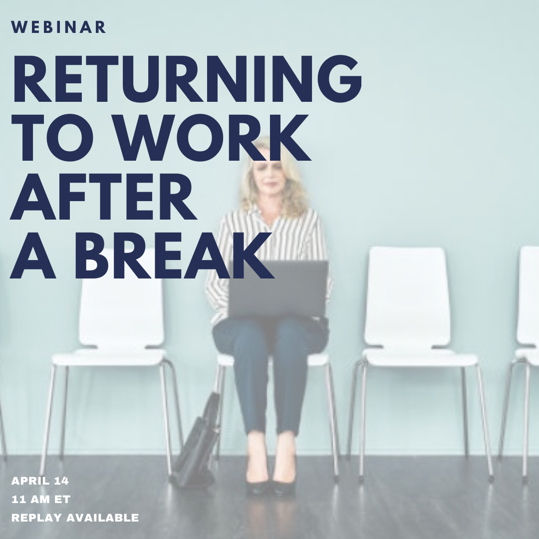 RETURNING TO WORK?